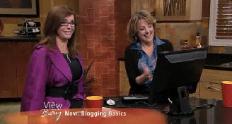 Audrey Mansfield-Linda-Lee-Blogging